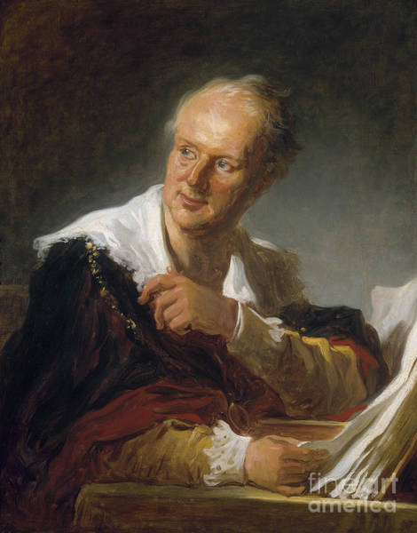Photograph - Denis Diderot (1713-1784) by Granger