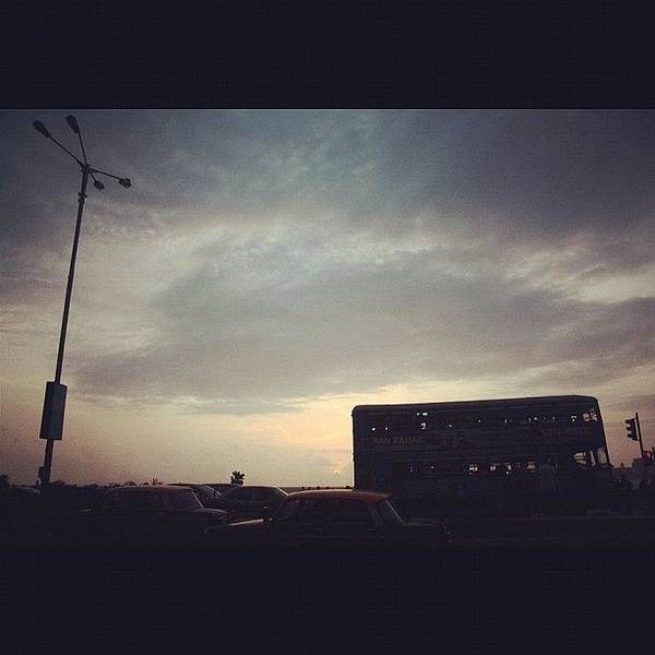 Bus Photograph - Instagram Photo by Rachit Vats