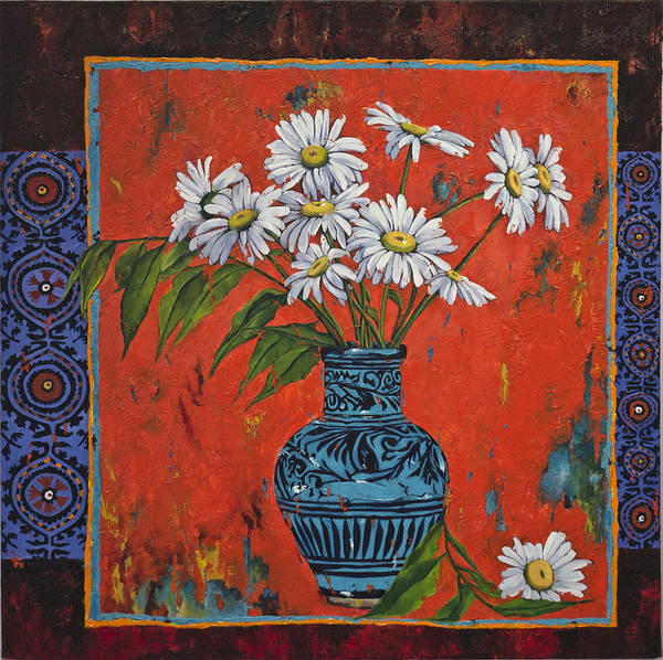 Gerbera Painting - Untitled by Mahtab Alizadeh