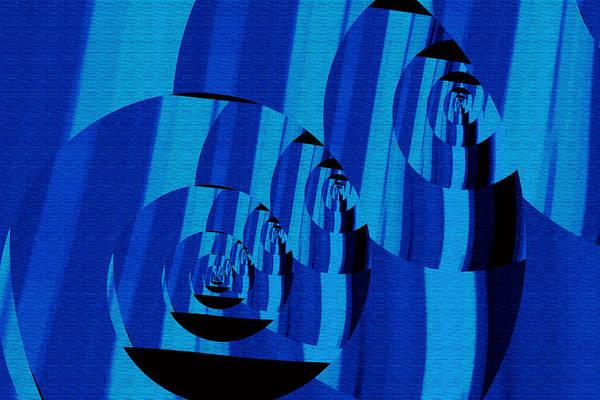 Art Print featuring the digital art Twirling by Mihaela Stancu