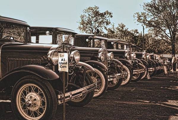 Photograph - A-1 Used Cars by Tim McCullough