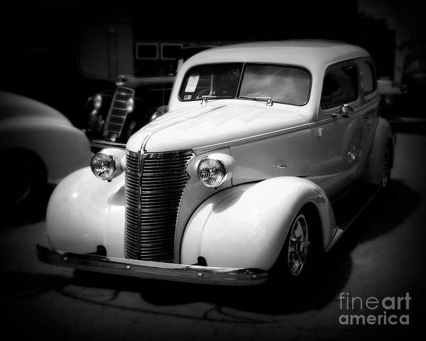 Street Rods Photograph - A Classic Ride by Perry Webster
