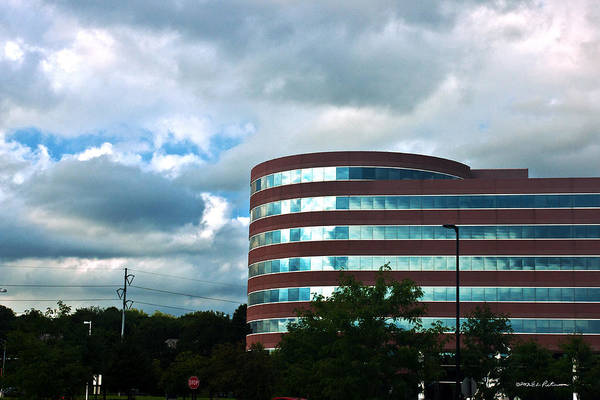 Photograph - A Cloudy Day by Edward Peterson