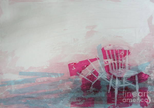 Chair Mixed Media - A Crime Of Passion by Paul OBrien