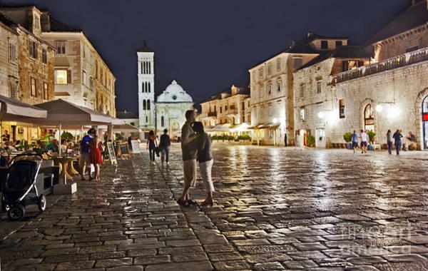 Hvar Wall Art - Photograph - A Croatian Night by Madeline Ellis
