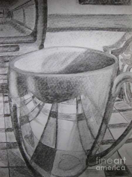 Painting - A Cup Of Reflections by Stella Sherman