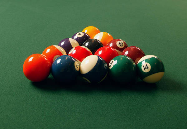 Wall Art - Photograph - A Fresh Game Of Pool by Design Pics