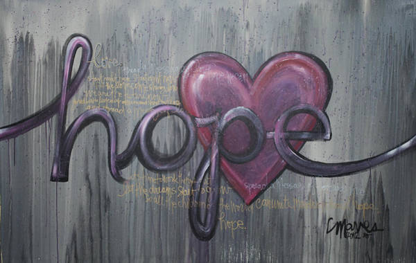 Painting - A Future Of Hope by Laurie Maves ART