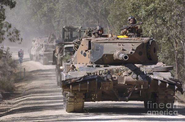 Photograph - A German Designed Leopard As1 Gun Tank by Stocktrek Images
