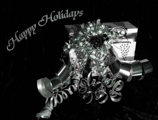 Photograph - A Gift Holiday Card by Beverly Cash
