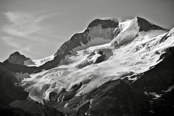 Photograph - A Glacier In Jasper National Park by RicardMN Photography