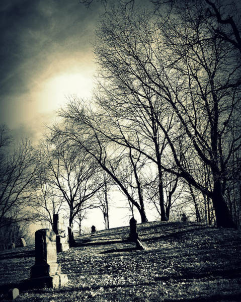 Photograph - A Grave Situation by Lora Mercado