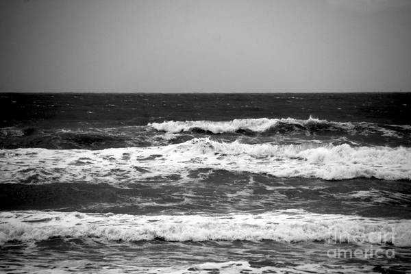 Wall Art - Photograph - A Gray November Day At The Beach - II  by Susanne Van Hulst