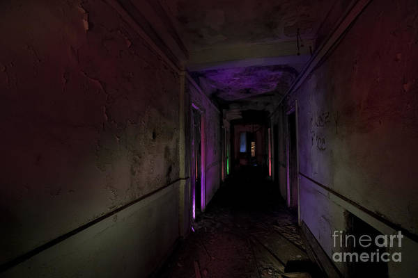Stamford Wall Art - Photograph - A Hallway To Nowhere by Keith Kapple