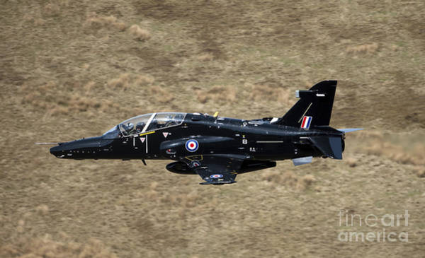 Mach Loop Photograph - A Hawk T2 Jet Trainer Aircraft by Andrew Chittock