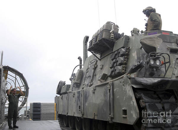 Photograph - A Landing Craft, Air-cushioned by Stocktrek Images