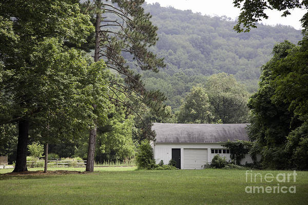 Houses Wall Art - Photograph - A Little White House by Madeline Ellis