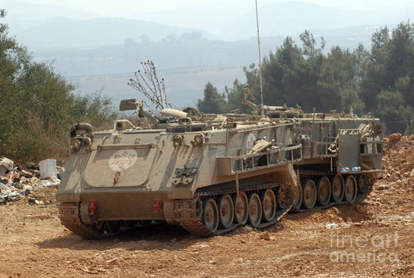 Photograph - A M113 Armored Personnel Carrier by Andrew Chittock