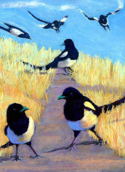 Wall Art - Painting - A Meeting Of Parliament by Cheryl Whitehall