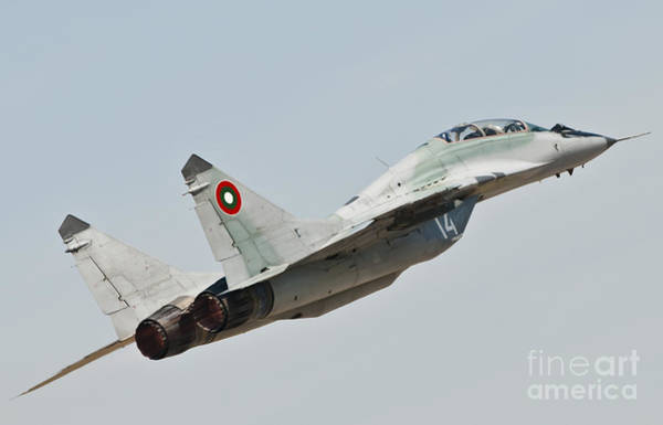 Photograph - A Mig-29 Of The Bulgarian Air Force by Giovanni Colla