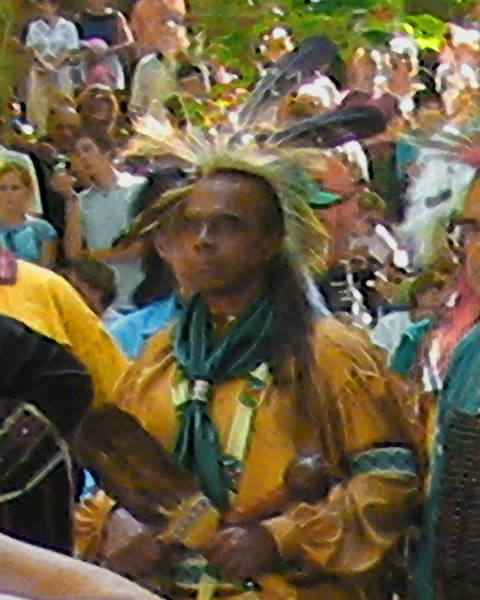 Photograph - A Nanticoke Chief by Emery Graham
