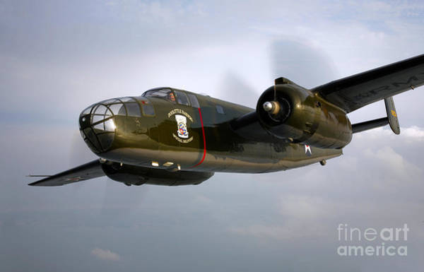 Photograph - A North American B-25 Mitchell by Scott Germain