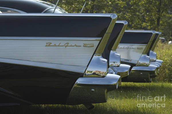 Photograph - A Pair Of Baby Cadillacs by Tom Luca