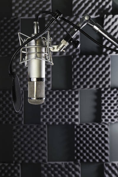 Wall Art - Photograph - A Professional Microphone In A Home by Roberto Westbrook