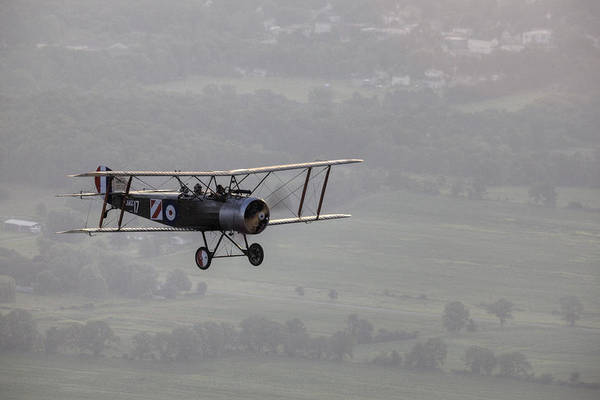 Wall Art - Photograph - A Replica Sopwith 1-12 Strutter by Pete Ryan