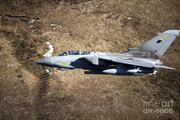 Photograph - A Royal Air Force Tornado Gr4 by Andrew Chittock