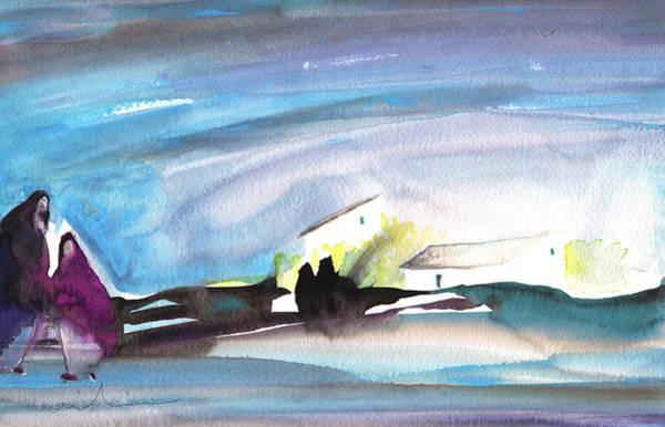 Painting - A Secrete Date On Planet Goodaboom by Miki De Goodaboom
