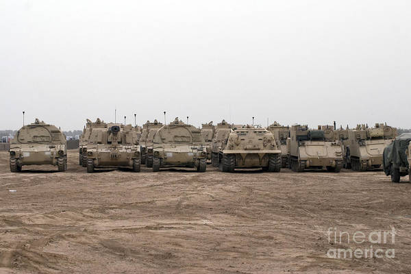 Photograph - A Selection Of M992 C.a.t Or Carrier by Terry Moore
