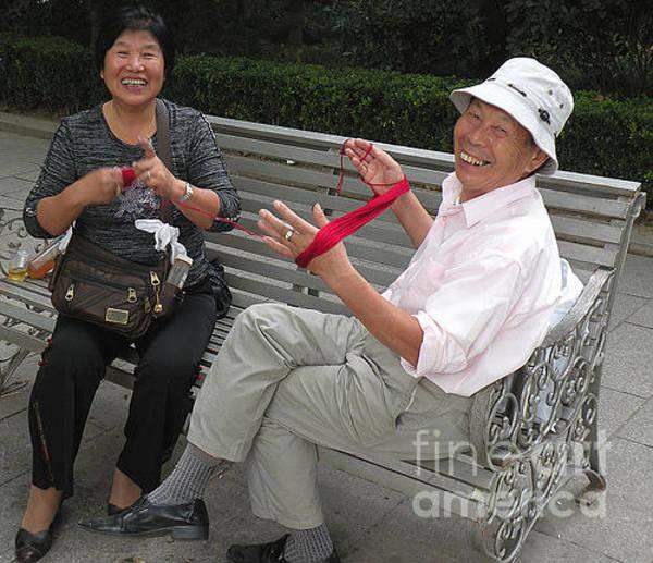 Bob Fisher Photograph - A Shanghai Couple by Bob Fisher