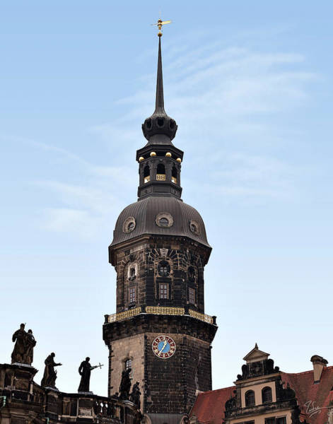 Photograph - A Spire In Dresden by Endre Balogh