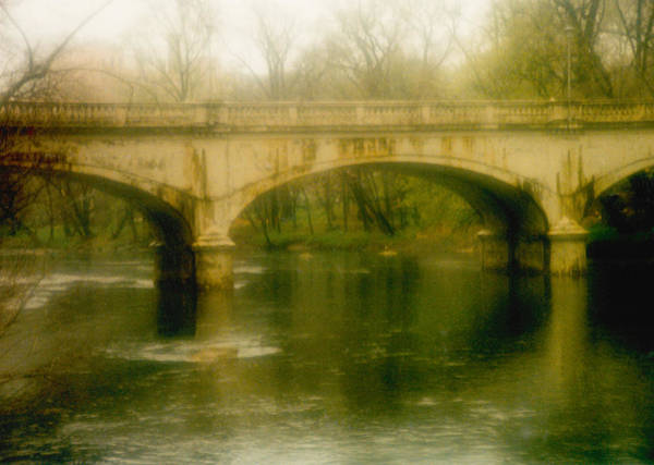 Photograph - A Spring Bridge by Emery Graham