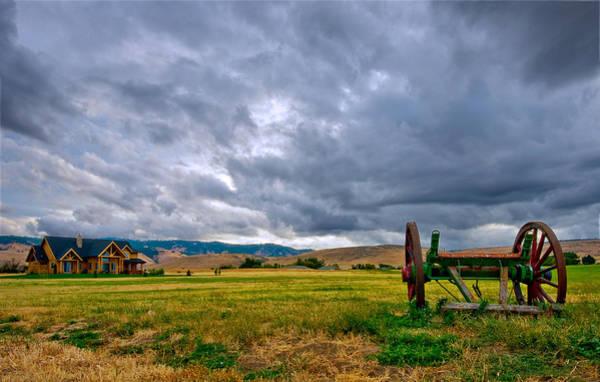 Kittitas County Wall Art - Photograph - A Storm Is Coming by Dan Mihai