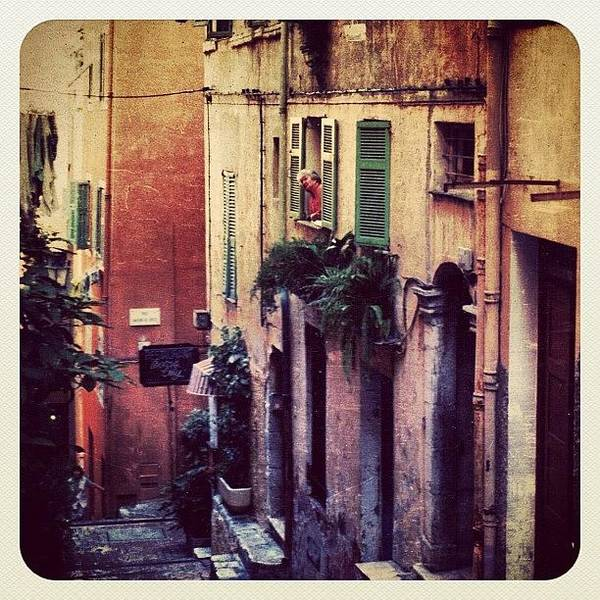 France Wall Art - Photograph - A Street In Villefranche (france) by Natasha Marco