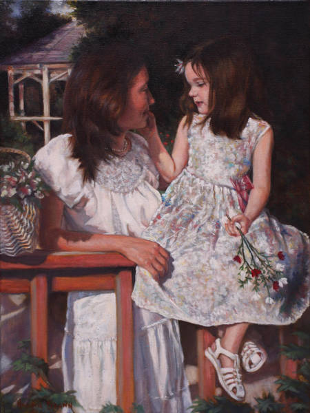 Painting - A Tender Touch by Harvie Brown