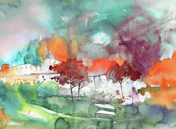 Painting - A Town On Planet Goodaboom by Miki De Goodaboom