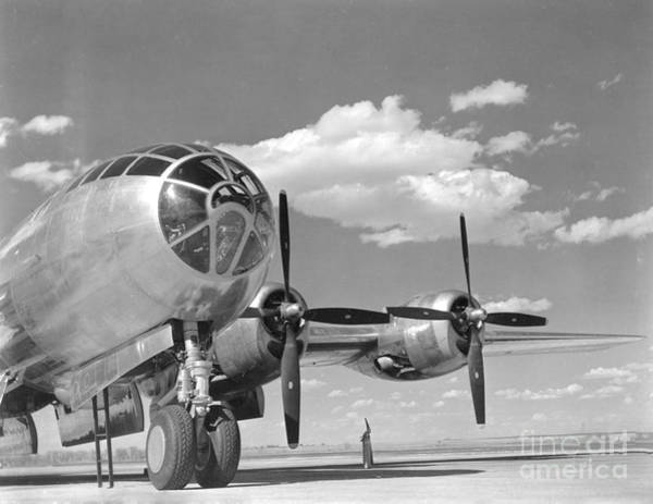 Superfortress Photograph - A U.s. Army Air Forces B-29 by Stocktrek Images