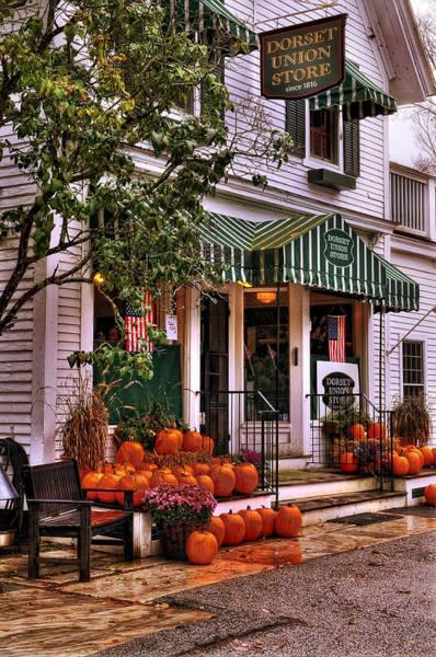 Photograph - Dorset Vermont Country Store by T-S Fine Art Landscape Photography