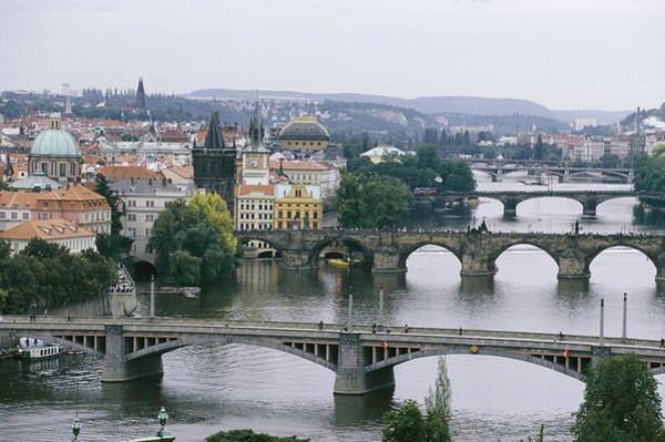 Czechoslovakia Photograph - A View Down The Vltava by Taylor S. Kennedy