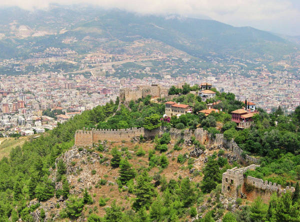 The Past Photograph - A View From Alanya Castle by Gulale