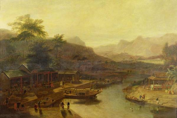 Trader Painting - A View In China - Cultivating The Tea Plant by William Daniell