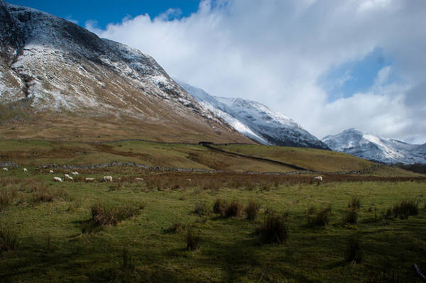 Photograph - A View In The Mountains by Chris Boulton