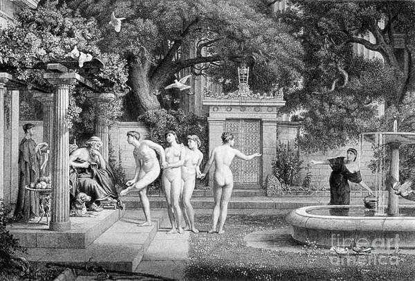 Photograph - A Visit To Aesculapius by Science Source