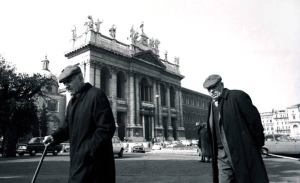 Photograph - A Walk In Rome by Emanuel Tanjala
