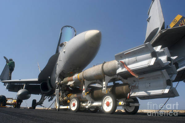 Photograph - A Weapons Skid Carrying 500-pound by Stocktrek Images