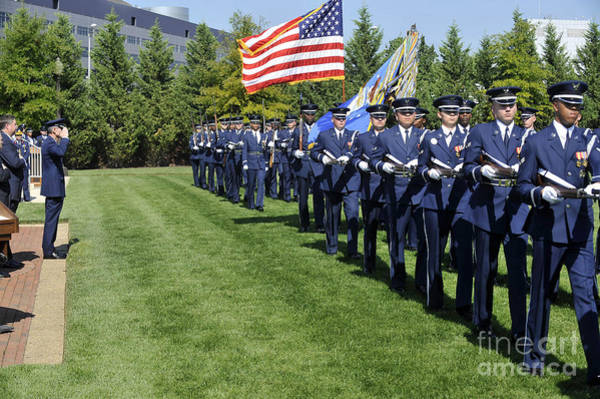 Medal Of Honor Photograph - A Welcoming Ceremony In Honor by Stocktrek Images