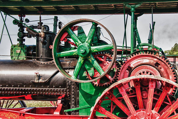 Photograph - Ab Farquhar Steam Tractor by Guy Whiteley